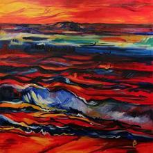 100х100 oil paints on canvas