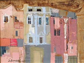 The mainstreet, 45х35, oil on canvas