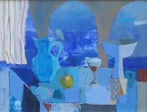 Summer evening, 34х44, oil on canvas