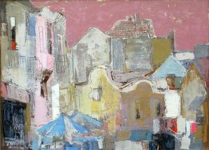 Townscape from Plovdiv, 52х72, oil on canvas