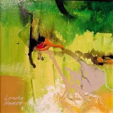 """""""Lime"""" / 20x20 /, acrylic on canvas"""