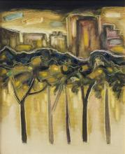 """""""Night"""" / 35х20 / oil paints on canvas"""