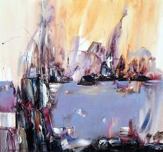 Morning in Balchik, 70х70, oil on canvas