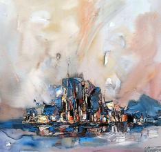 Tsarevo, 55х55, oil on canvas