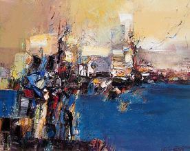 Coast, 40х50, oil on canvas