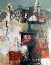"""""""Къмпинг"""", 130х95, маслени бои/платно"""