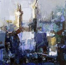 Coast, 100х100, oil on canvas