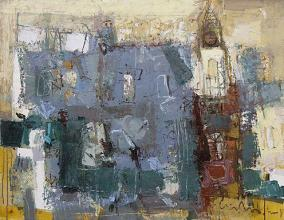 Hotel Paris, 70х90, oil on canvas