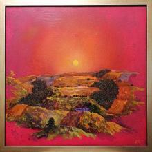 Sunset / 50х50 / oil paints on canvas
