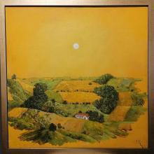 Summer day / 50х50 / oil paints on canvas