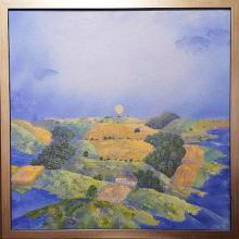 Morning / 50х50 / oil paints on canvas