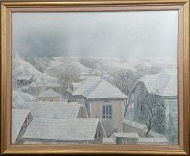 Winter - 3 / 54х65 / oil paints on canvas