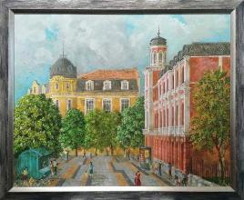 Main street / 54х65 / oil paints on canvas