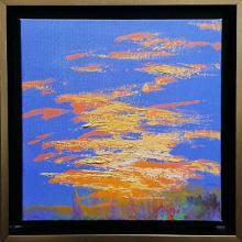 Мариана Маринова<br />Залез /30х30/ масл.бои, платно