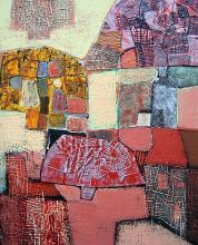 Autumn pallette, 70х50, acrylic on canvas