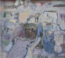 """Гергана Минкова, """"Пейзаж"""", 60х70"""