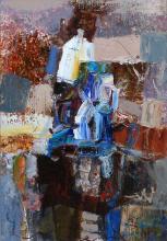 A Temple, 41х27, oil on canvas