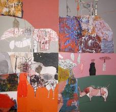 Species 3, 18х24, acrylic on canvas