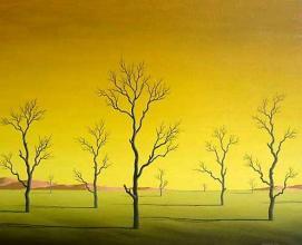 Silence, 40х50, oil on canvas