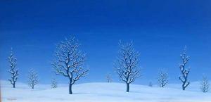 Ivan Hristov-Groga, <em>Sunny winter day</em>, 24х48, oil on canvas