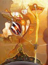 """""""Хвърчила на изгрев слънце"""", 100х70, маслени бои/платно"""