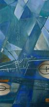 Landscape, 63х26, oil on canvas