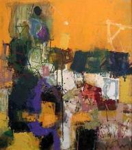Sunset, 64х55, oil on canvas