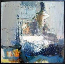 She, 40х40, oil on canvas