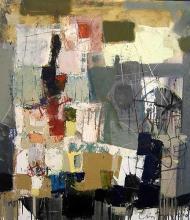 Atelier 1, 80x70, oil on canvas