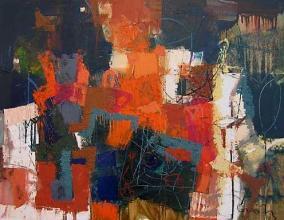 Late, 72х92, oil on canvas