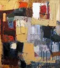 Roofs, 64х55, oil on canvas