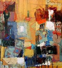 Landscape, 55х64, oil on canvas