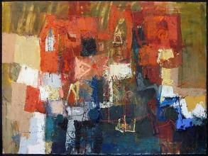 Old house, 60х90, oil on canvas