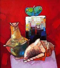 Krastyo Todorov-Keca, <em>Still life</em>, 40х40