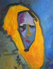 The face of pain, 55х45