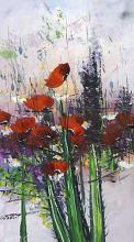 Poppies, 80х40, oil on canvas