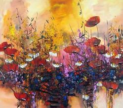 Poppies, 70х80, oil on canvas