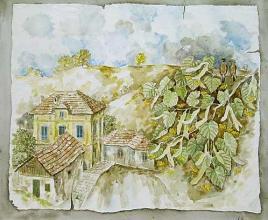"""Рисунка"", 50х60,маслени бои/платно"