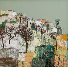Hill, 40х40, acrylic on canvas