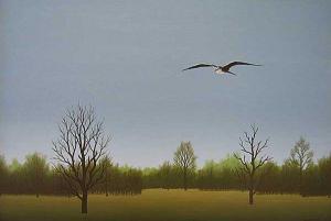 At dusk, 38х55, oil on canvas