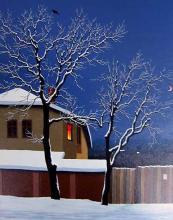 Late hour, 61х46, oil on canvas
