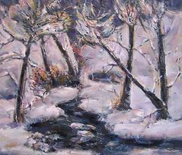 Ivan Popovski, <em>Winter</em>, 65х60