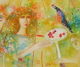 <em>Cherries</em>, Jamal Emurlov