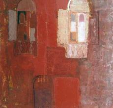 Facade 2, 50х50, oil on canvas