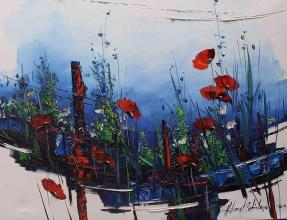 Poppies, 80х100, oil on canvas