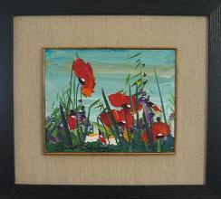 Poppies, 20х25, oil on canvas