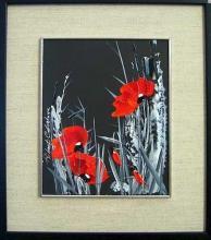 Poppies, 25х20, oil on canvas