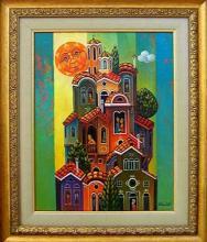Angel vasilev, <em>Houses</em>, 27х35