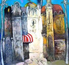 Krastyo Todorov-Keca, <em>Landscape</em>, 80х80