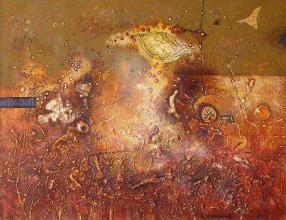 Late Autumn, 50х65, acrylic on canvas